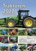 Cover-Bild zu garant Verlag GmbH (Hrsg.): Wochenkalender Traktoren 2022