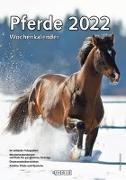 Cover-Bild zu garant Verlag GmbH (Hrsg.): Pferde 2022 Wochenkalender