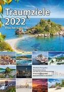 Cover-Bild zu garant Verlag GmbH (Hrsg.): Wochenkalender Traumziele 2022