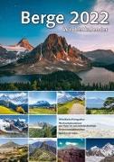 Cover-Bild zu garant Verlag GmbH (Hrsg.): Berge 2022 Wochenkalender