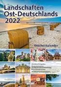 Cover-Bild zu garant Verlag GmbH (Hrsg.): Landschaften Ostdeutschlands 2022 Wochenkalender