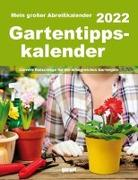 Cover-Bild zu garant Verlag GmbH (Hrsg.): Gartentipps 2022 Abreißkalender