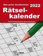 Cover-Bild zu garant Verlag GmbH (Hrsg.): Rätsel 2022 Abreißkalender