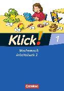 Cover-Bild zu Klick! Mathematik 1. Schuljahr. Arbeitsbuch Teil 2 von Burkhart, Silke