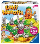 Cover-Bild zu Ravensburger Lotti Karotti, Brettspiel für Kindergeburtstage, Gesellschafts- und Familienspiel, für Kinder und Erwachsene, 2-4 Spieler, ab 4 Jahren