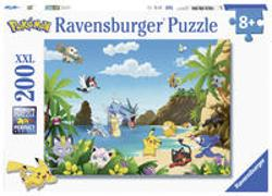 Cover-Bild zu Ravensburger Kinderpuzzle 12840 - Schnapp sie dir alle! 200 Teile XXL - Pokémon Puzzle für Kinder ab 8 Jahren