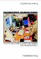 Cover-Bild zu Weischenberg, Siegfried: Nachrichten-Journalismus