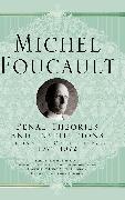 Cover-Bild zu Penal Theories and Institutions (eBook) von Foucault, Michel