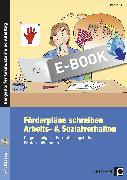 Cover-Bild zu Förderpläne schreiben: Arbeits- & Sozialverhalten (eBook) von Keil, Marion
