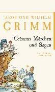 Cover-Bild zu Grimm, Jacob und Wilhelm: Grimms Märchen und Sagen
