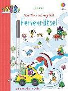Cover-Bild zu Bingham, Jane: Mein Wisch-und-weg-Buch: Ferienrätsel
