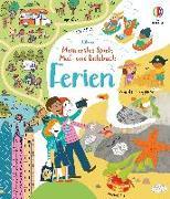 Cover-Bild zu Gilpin, Rebecca: Mein erstes Spiel-, Mal- und Ratebuch: Ferien