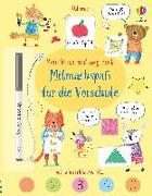 Cover-Bild zu Bathie, Holly: Mein Wisch-und-weg-Buch: Mitmachspaß für die Vorschule
