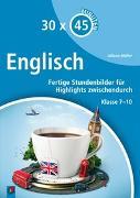 Cover-Bild zu 30 x 45 Minuten: Englisch von Müller, Juliane