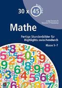 Cover-Bild zu 30 x 45 Minuten: Mathe von El Faramawy, Susanne