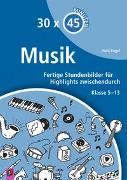 Cover-Bild zu 30 x 45 Minuten: Musik von Engel, Doris