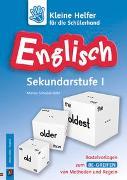 Cover-Bild zu Kleine Helfer für die Schülerhand: Englisch Sekundarstufe 1 von Schadek-Bätz, Marion