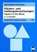 Cover-Bild zu Flächen- und Umfangsberechnungen. Figuren in der Ebene. (5. bis 8. Klasse) von Bettner, Marco