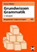 Cover-Bild zu Grundwissen Grammatik. 3. Schuljahr von Müller, Heiner