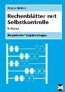 Cover-Bild zu Rechenblätter mit Selbstkontrolle. 8. Schuljahr von Müller, Heiner