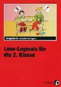 Cover-Bild zu Lese-Logicals für die 2. Klasse von Lange, Angelika und Jürgen