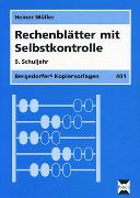 Cover-Bild zu Rechenblätter mit Selbstkontrolle. 9. Schuljahr von Müller, Heiner