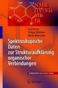Cover-Bild zu Pretsch, Ernö: Spektroskopische Daten zur Strukturaufklärung organischer Verbindungen