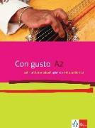 Cover-Bild zu Con gusto. Lehr- und Arbeitsbuch mit 2 Audio-CDs - A2