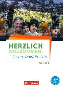 Cover-Bild zu Herzlich Willkommen! Einstiegskurs Deutsch. Arbeitsheft mit MP3-Audio-CD von Funk, Hermann
