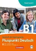 Cover-Bild zu Pluspunkt Deutsch B1. Testheft von Maenner, Dieter