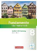 Cover-Bild zu Andreae, Kathrin: Fundamente der Mathematik, Baden-Württemberg, 8. Schuljahr, Schülerbuch