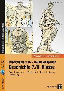 Cover-Bild zu Stationenlernen Geschichte 7/8 Band 1 - inklusiv von Lauenburg, Frank