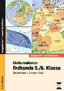 Cover-Bild zu Stationenlernen Erdkunde 5./6. Klasse von Kindl, Markus