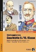 Cover-Bild zu Stationenlernen Geschichte 9./10. Klasse - Band 1 von Lauenburg, Frank