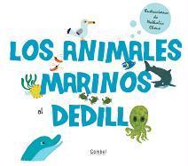 Cover-Bild zu Choux, Nathalie (Illustr.): SPA-ANIMALES MARINOS AL DEDILL
