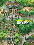 Cover-Bild zu Brüchler, Mirco (Illustr.): Wimmelbuch Zoo Basel