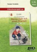 """Cover-Bild zu Literaturprojekt zu """"Hanno malt sich einen Drachen"""" von Sternitzke, Susanne"""