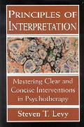 Cover-Bild zu Levy, Steven T.: Principles of Interpretation