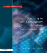Cover-Bild zu Coles, Anthony (Hrsg.): Teaching in Post-Compulsory Education (eBook)