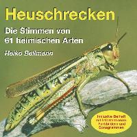 Cover-Bild zu Bellmann, Heiko: Heuschrecken. CD/Stimmen von 61heim.Arten