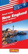 Cover-Bild zu New England Strassenkarte 1:1 Mio., Road Guide Nr. 6. 1:1'000'000