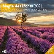 Cover-Bild zu Magie des Lichts Kalender 2021 - 30x30 von Ackermann Kunstverlag (Hrsg.)