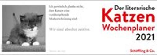Cover-Bild zu Der literarische Katzen Wochenplaner 2021 von Bachstein, Julia (Hrsg.)