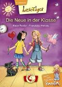 Cover-Bild zu Reider, Katja: Lesetiger - Meine beste Freundin Paula: Die Neue in der Klasse