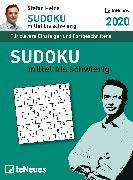 Cover-Bild zu Stefan Heine Sudoku mittel bis schwierig 2020 TAK