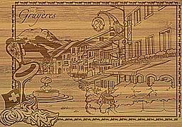 Cover-Bild zu 27826 Bambus Gruyères Romandie GVA_Fribourgeoise102