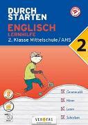 Cover-Bild zu Durchstarten Englisch 2. Klasse Mittelschule/AHS Lernhilfe von Zach, Franz