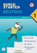 Cover-Bild zu Durchstarten Deutsch 1. Klasse Mittelschule/AHS Lernhilfe von Blieberger, Gernot