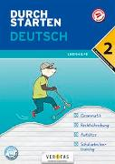Cover-Bild zu Durchstarten Deutsch 2. Klasse Mittelschule/AHS Lernhilfe von Hofer, Jutta