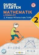 Cover-Bild zu Durchstarten Mathematik 2. Klasse Mittelschule/AHS Lernhilfe von Olf, Markus
